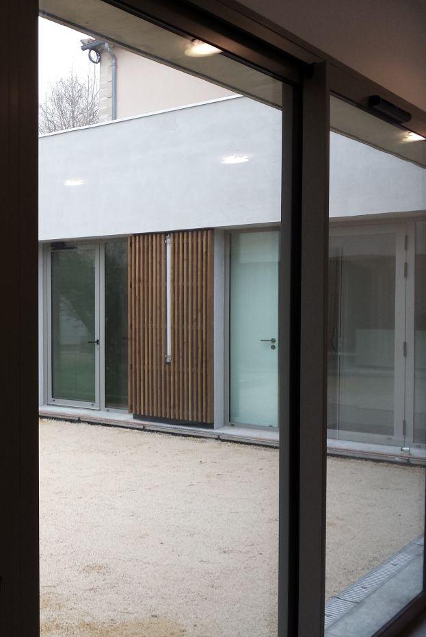 Hb more architectes n mes extension mairie for Hb architectes