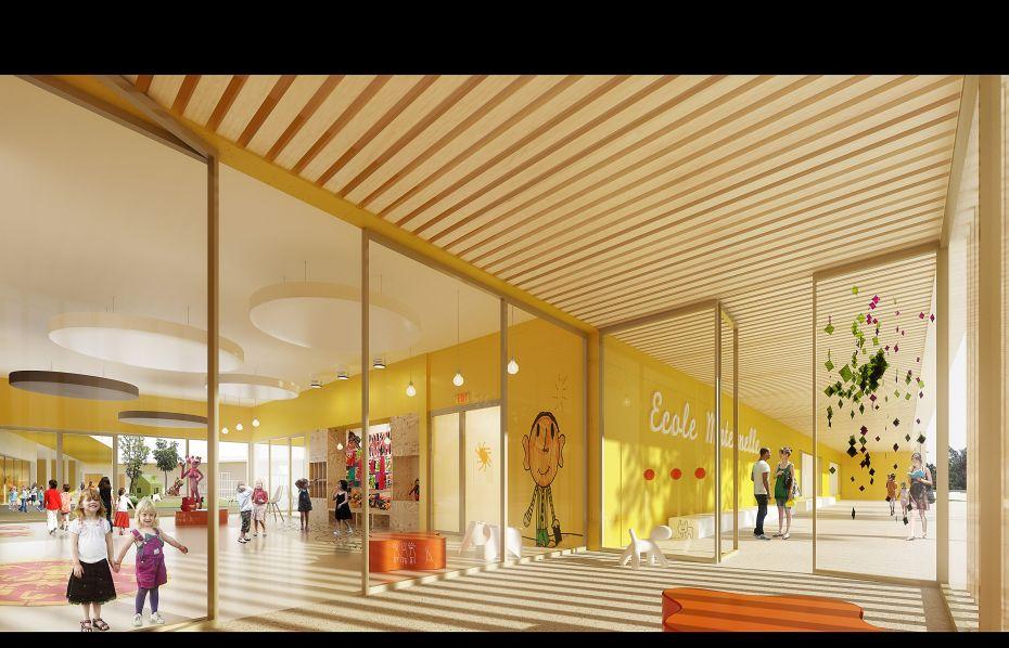Hb more architectes n mes ecole maternelle bessan 34 for Hb architectes
