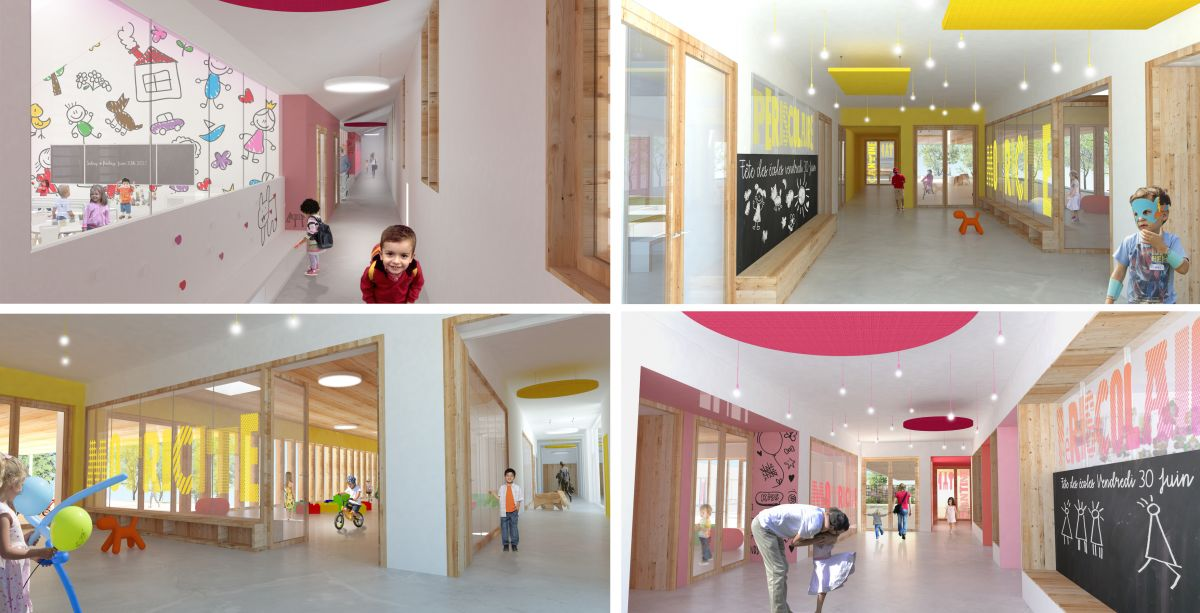 Hb more architectes nimes groupe scolaire de laure for Architecte interieur nimes