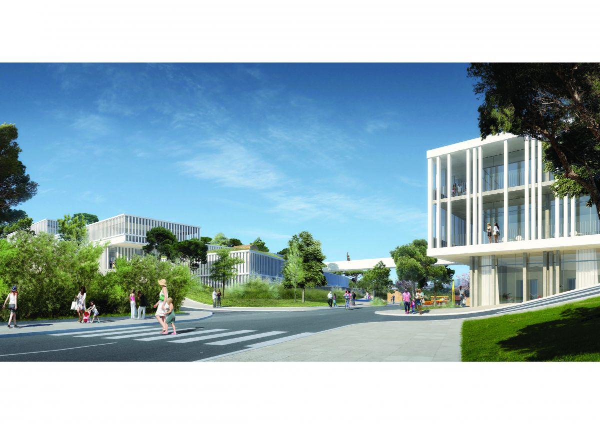 Hb more architectes nimes equipements publics les for Hb architectes