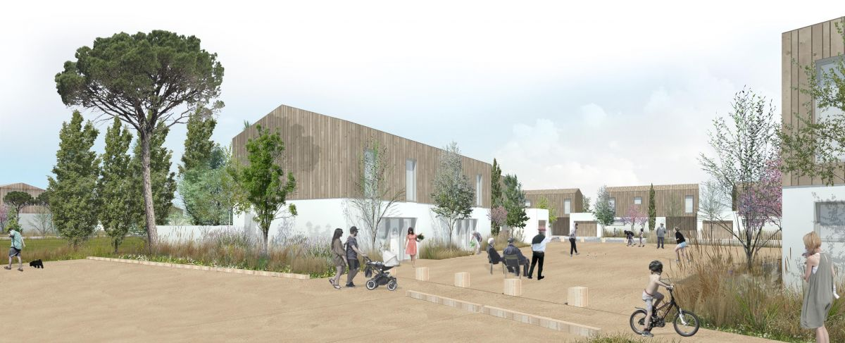 Hb more architectes nimes op ration construction le for Hb architectes
